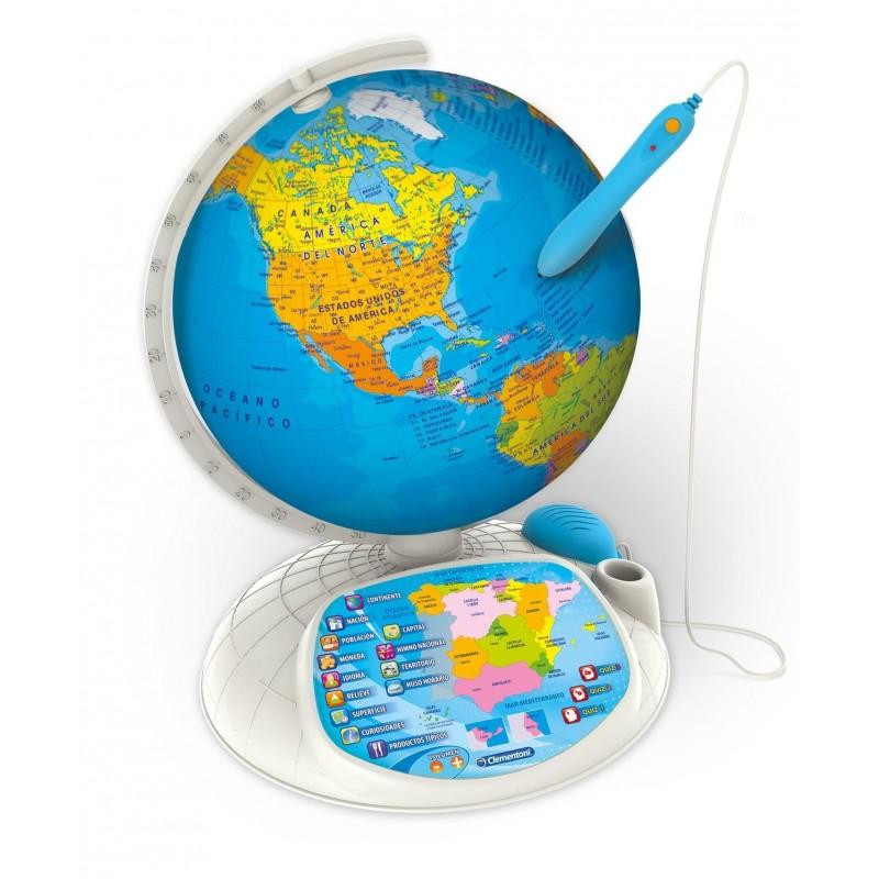 Explora el mundo Globo interactivo - Clementoni