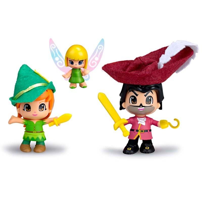 Pinypon Peter Pan, Garfio y Campanilla