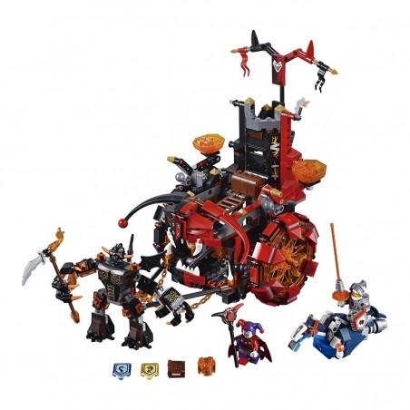 Lego El malvado vehículo de Jestro Nexo knights