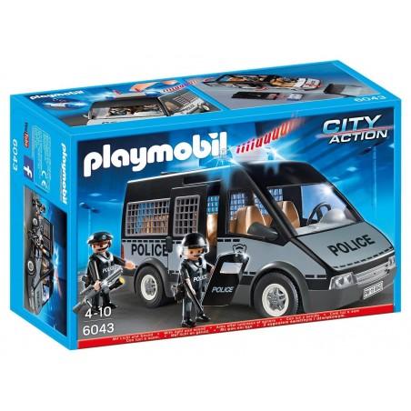Furgón de policía con luces y sonidos - Playmobil