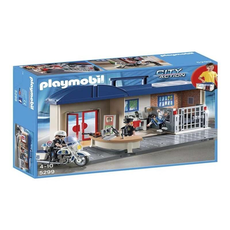 Estación de policía maletín - Playmobil
