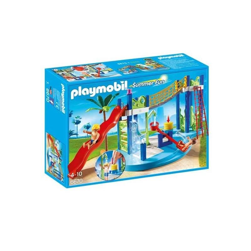 Zona de Juegos Acuática Playmobil