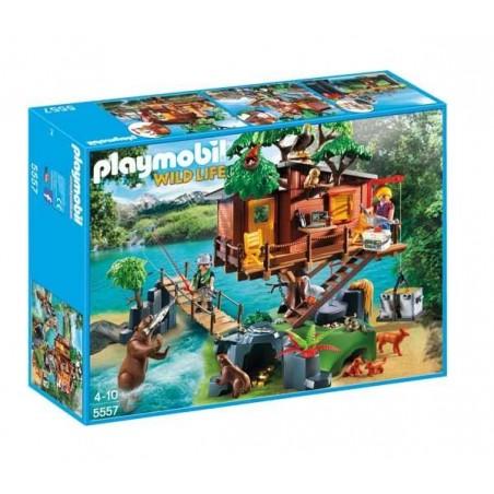 Playmobil Wildlife Casa del Árbol de Aventuras