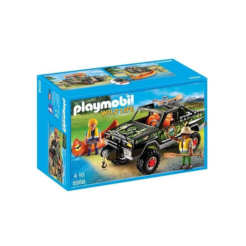 Pick Up de Aventura Playmobil