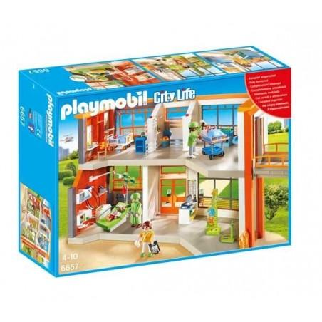 Hospital Infantil Playmobil