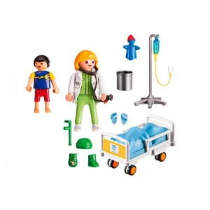 Playmobil City Life Doctor con Niño