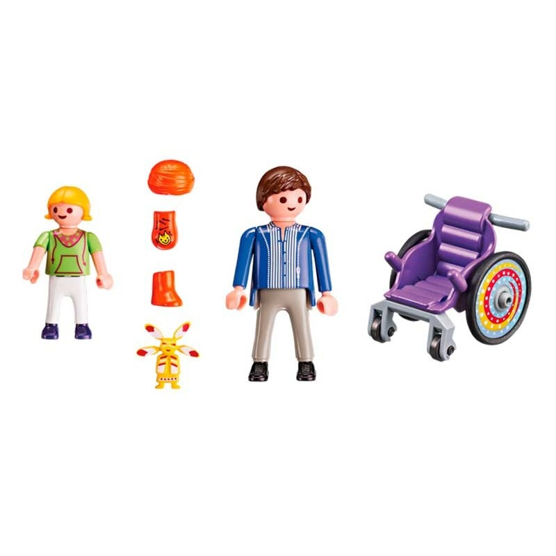 Playmobil City Life Niño en Silla de Ruedas