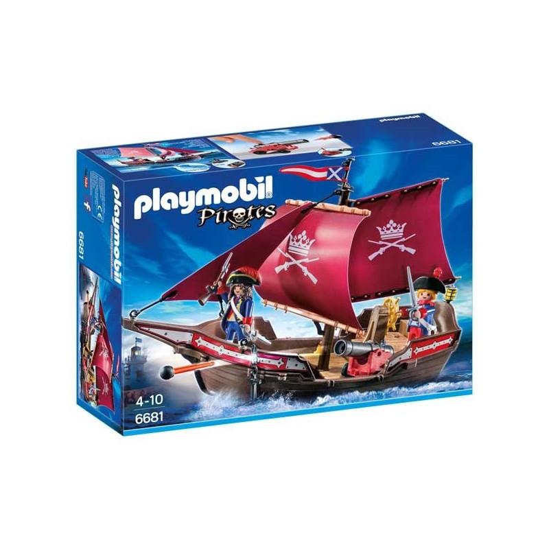 Barco Patrulla de Soldados Playmobil