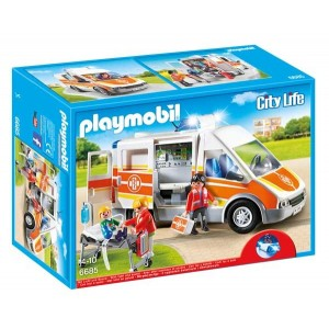 Ambulancia con Luces y Sonido Playmobil