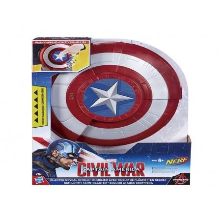 Capitán América Escudo lanzador - Hasbro