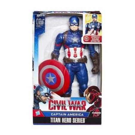 Figura electrónica Capitán América - Hasbro