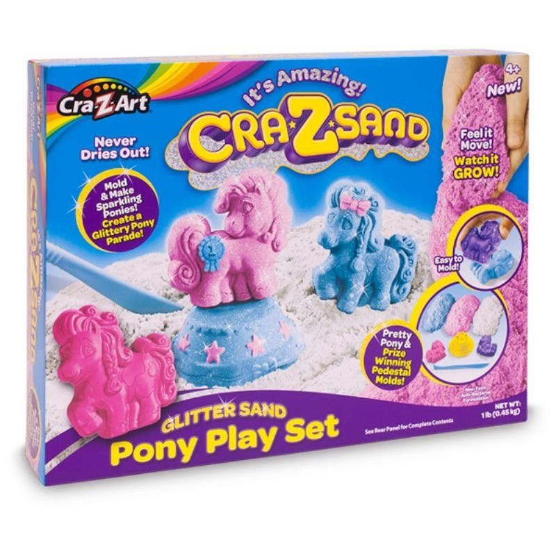 Crazsand Pony Playset