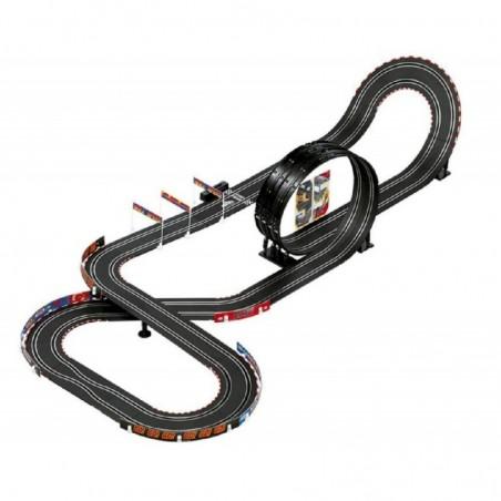 Circuito carrera GO Carbon Cars - Mattel