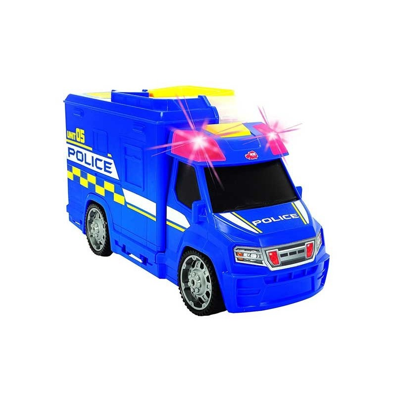 Coche de Policía Maletín con Accesorios