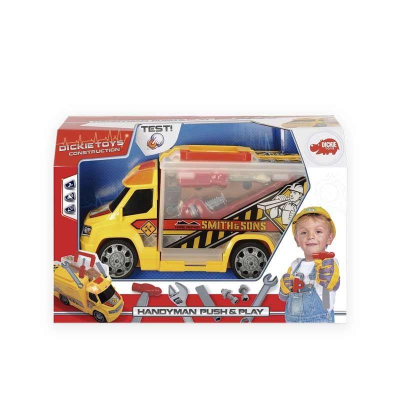Camión Maletín con Herramientas