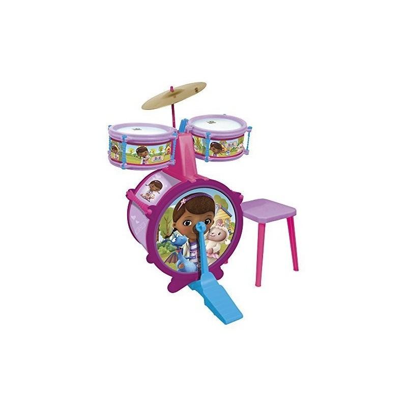 Batería con banqueta doctora juguetes - Reig