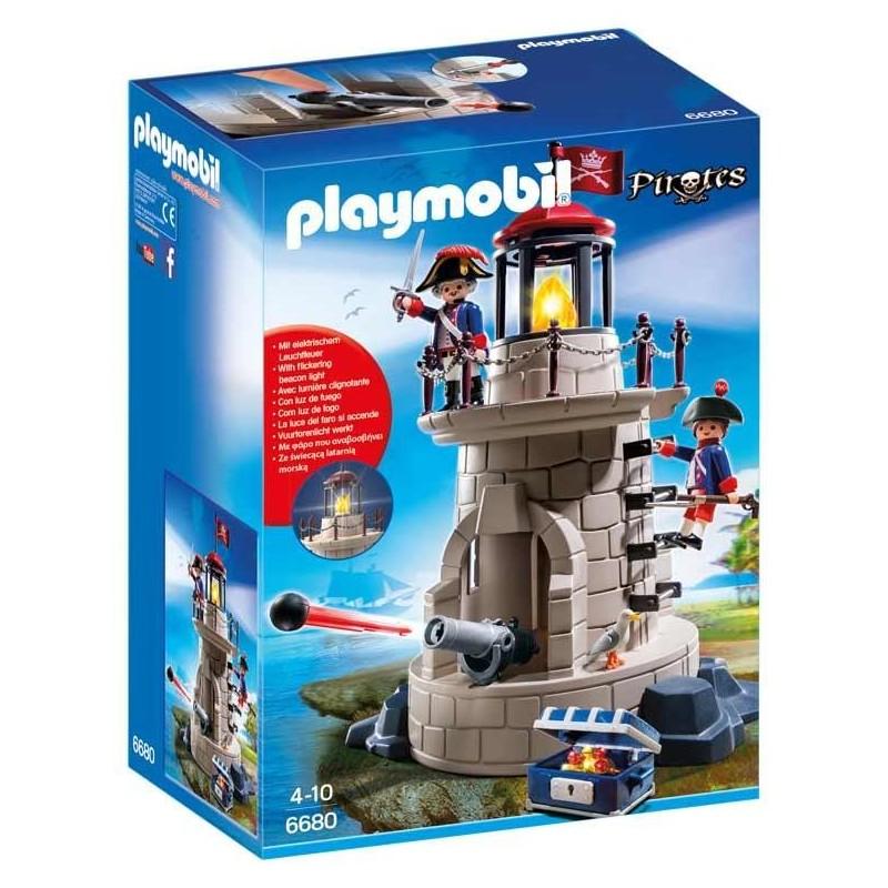 Faro con Soldados Playmobil