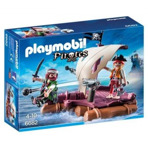 Balsa Pirata Playmobil