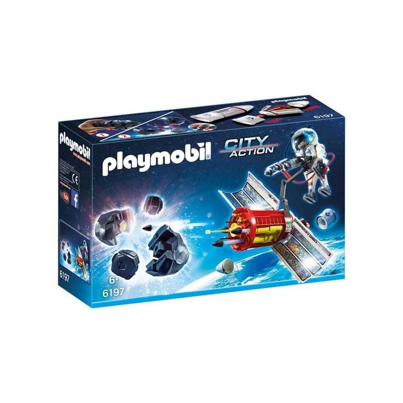 Satélite con láser para los Meteoritos Playmobil