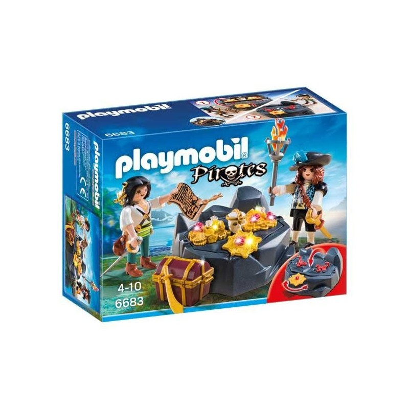 Escondite del Tesoro Pirata Playmobil