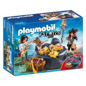 Escondite del Tesoro Pirata Playmobil