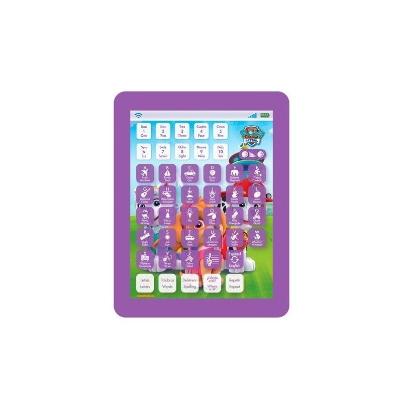 Tablet educativa Paw Patrol Skye