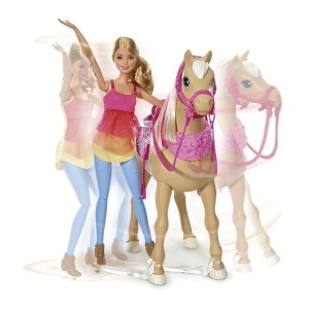 Barbie y su caballo bailarín - Mattel