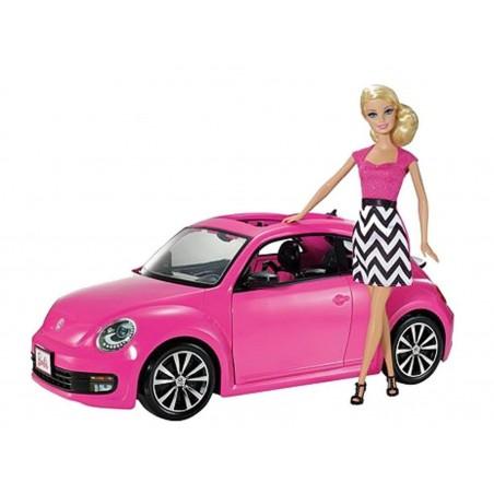 VW Beetle Barbie - Mattel