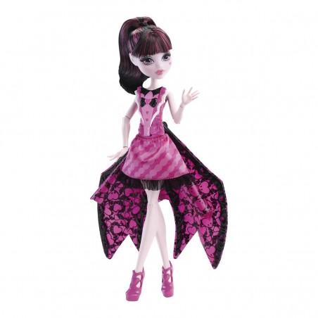 Draculaura monstruita-murciélago - Mattel