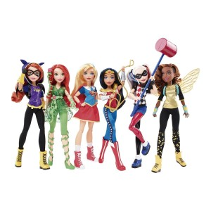 Muñecas DC super hero girls - Mattel