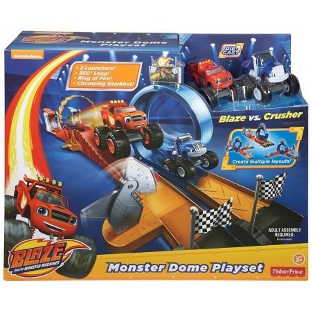 Estadio Monster Dome Blaze - Mattel