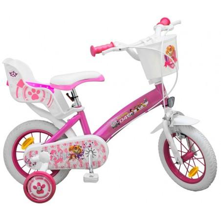 Bicicleta Paw Patrol Niña 12 Pulgadas