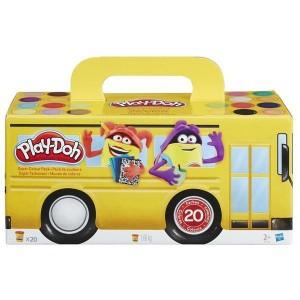 Pack Super Color 20 Botes Play-Doh