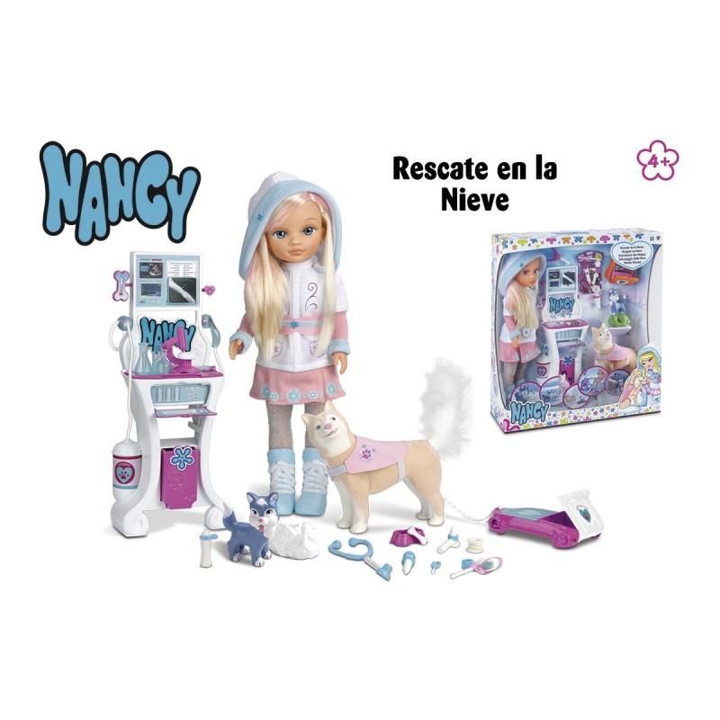 Nancy rescate en la nieve - Famosa
