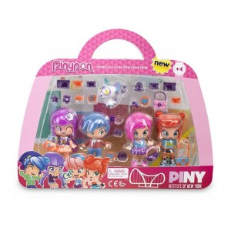 Pinypon PINY Pack 4 Amigas