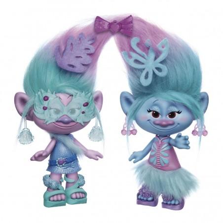 Set de diseño satén y chanelle Trolls - Hasbro