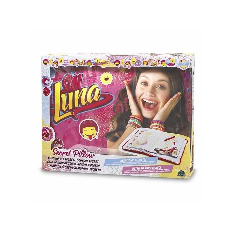 El Cojín Secreto Soy Luna con Conexión Mp3