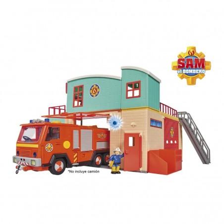 Sam el bombero estación de bomberos - Simba