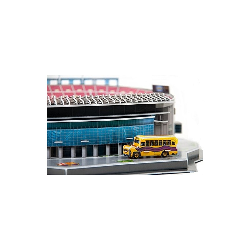 Puzzle 3D LED Estadio Barcelona Camp Nou NanoStad