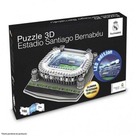 Puzzle 3D LED Estadio Santiago Bernabeu NanoStad
