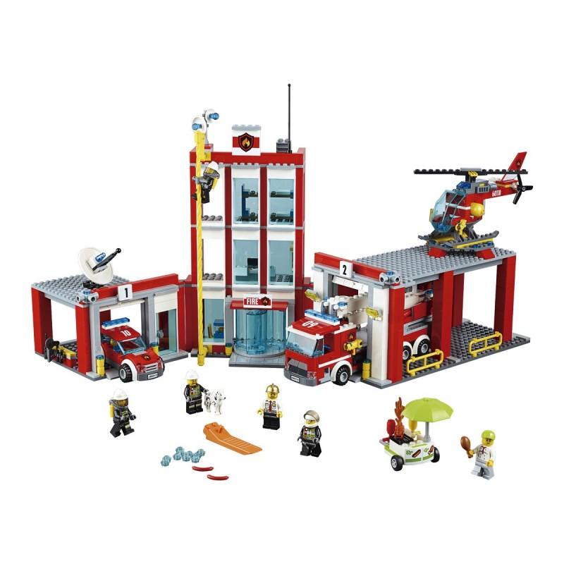 LEGO CITY Estación de bomberos