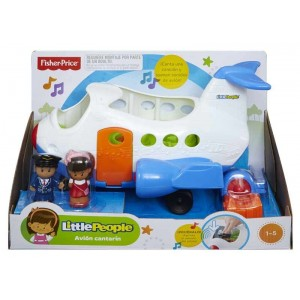 Avión Cantarín Fisher Price