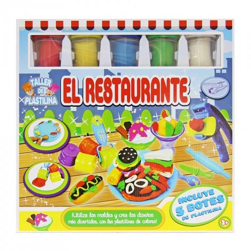 Set de Plastilina Restaurante