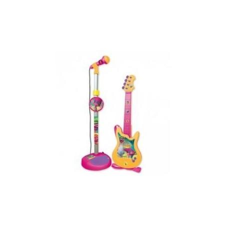 Micro y guitarra Trolls - Reig
