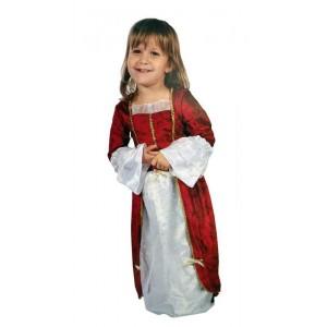 Disfraz de Princesa Rojo XXS