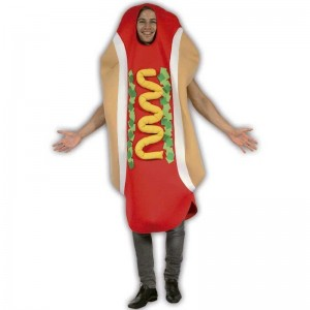 Hot Dog disfraz