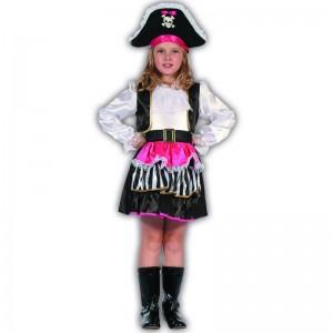 S Pirata infantil niña disfraz
