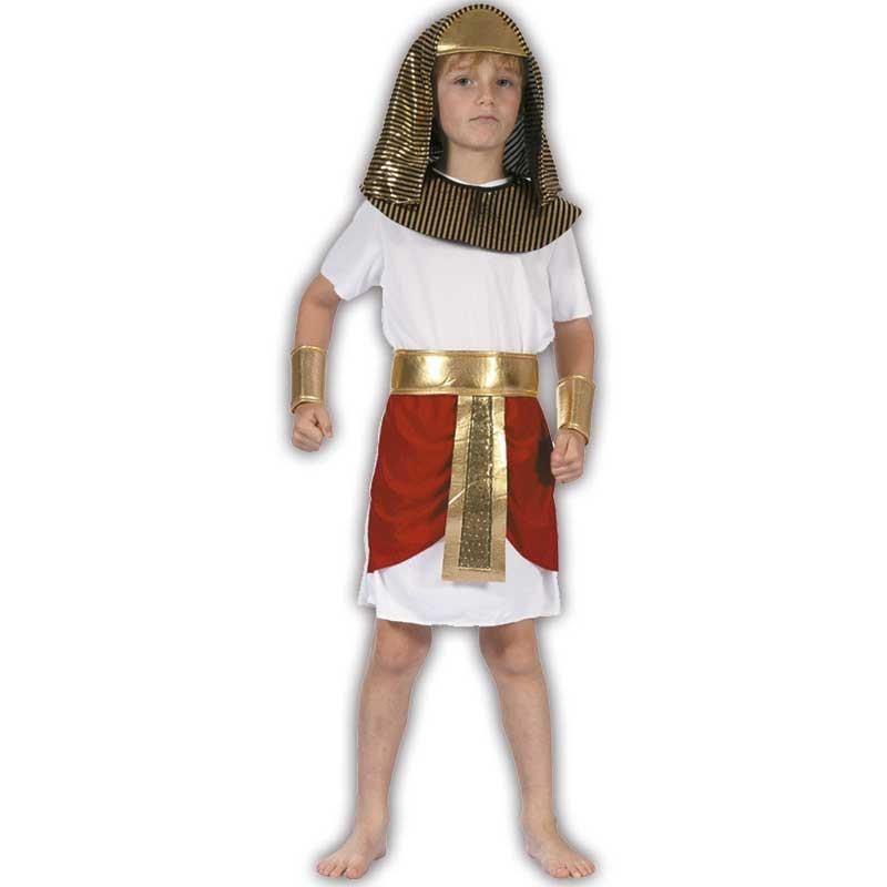 L Faraón disfraz infantil