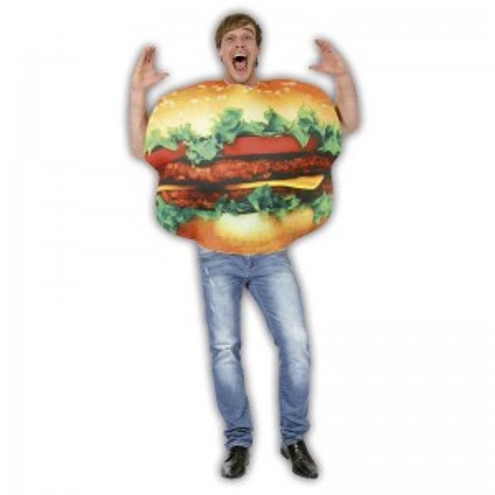Burger disfraz adulto