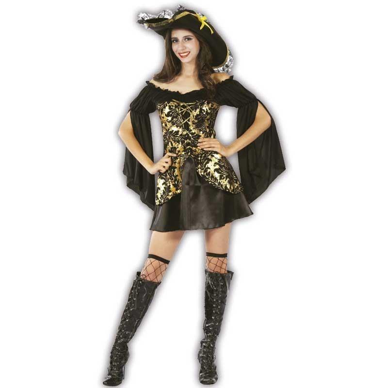 Mujer pirata disfraz adulto
